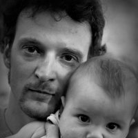 Папа и сын :: Mila Kulikova