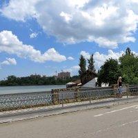 Краснодар. Мост через реку Кубань :: Татьяна Смоляниченко