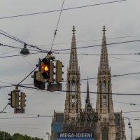 Церковь Вотивкирхе в Вене :: Вадим *