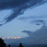 Вечернее небо Новосибирская область :: Альбина Кабик