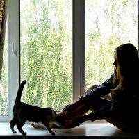 С кошкой :: Шура Еремеева