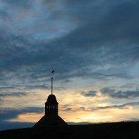 Крепость Корела на закате :: Avada Kedavra!