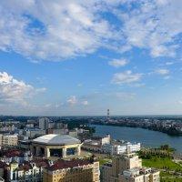 Казань с высоты птичьего полета... :: Светлана Игнатьева