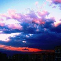 Прекрасный вечер с облаками :: Никита Михайлов