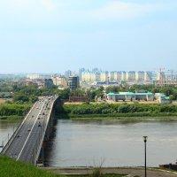 Канавинский мост через Оку :: Владимир Андреевич Ульянов