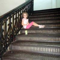 Шикарная лестница в музее. :: Елизавета Успенская