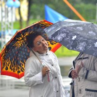 Из жизни зонтиков. (3) :: Дмитрий Олегович