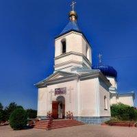 Сельский Храм. :: Вахтанг Хантадзе