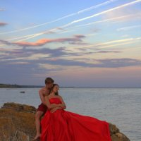 Влюбленные на закате :: оксана косатенко