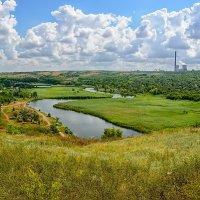 Долина реки Крынка :: Юрий Шапошник