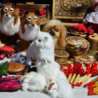 Картинка с ярмарки. :: Sergey Serebrykov