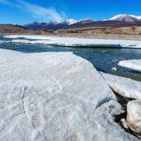 Река, лёд, горы :: Анатолий Иргл