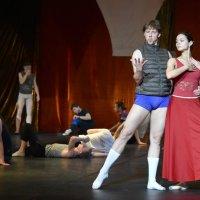 "Репетиция балета ""Витовт"" на сцене Большого театра :: Светлана Яковлева"