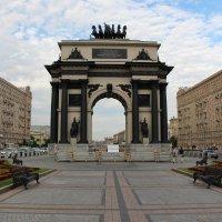 Триумфальная Арка на Кутузовском проспекте г.Москва :: Евгений