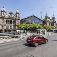 Железнодорожный вокзал, Будапешт :: Борис Гольдберг