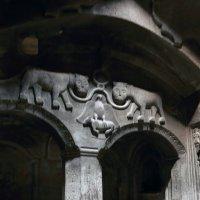 каменные украшения храма в Гегарде :: Лидия кутузова