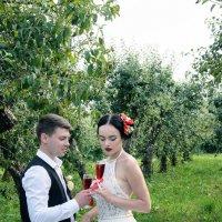 Cherry Wedding. Олег и Анастасия :: Ксения Довгопол