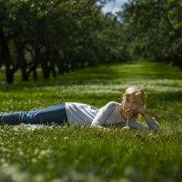 Я на солнышке лежу! :: Юля Колосова