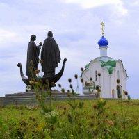 Памятник Петру и Февронии. Жайская возвышенность :: Татьяна Ракутина