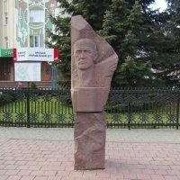 Памятник  Степану  Ленкавскому  в  Ивано - Франковске :: Андрей  Васильевич Коляскин