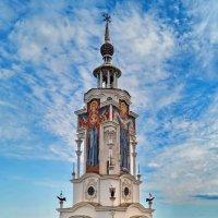 Крым. Храм-маяк в пос. Малореченское. :: Igor GRIN