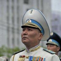 Военный дирижер президентского оркестра Казахстана :: Николай Сапегин