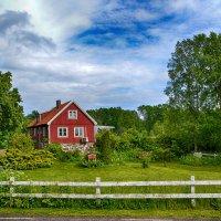 Домик в деревне ( шведский вариант ) :: Priv Arter