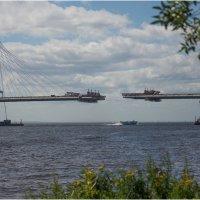 Вантовый мост через Корабельный фарватер :: Борис Борисенко