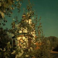 Церковь Сергия Радонежского в Бородино. :: Сибирь Эвенкия Евгений Щербаков
