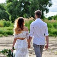 свадьба на  пляже :: Евгения Полянова