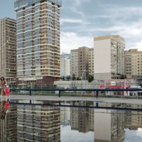 В городе после дождя :: Сергей Яценко
