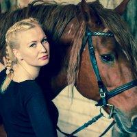 Антонина и Орлик 2015 :: Ирина Кузина