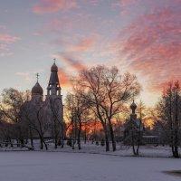 Рассвет в Сестрорецке :: Владимир Колесников
