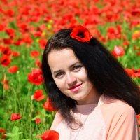На маковом поле :: Татьяна Евдокимова