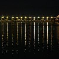 ночной пляж Мёртвого моря.... :: Павел Баз