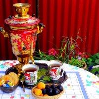 Утро,чай во дворе... :: Тамара (st.tamara)