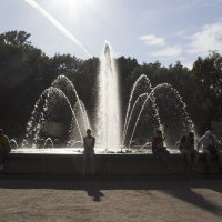 У фонтана(тонирование) :: Aнна Зарубина