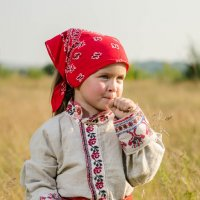 В поле :: Дмитрий Рожков