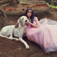 Нежная воздушная принцесса и ее очаровательный верный друг :: Татьяна Семёнова