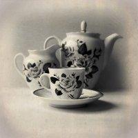 Чашечка кофе в ретро стиле :: Николай Белавин