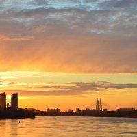 Закат над городом :: alen.kon К