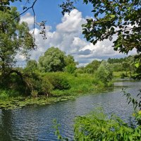 Какая чудная река,чиста,свежа,не тороплива.. :: Алла Кочергина