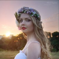 Закат солнца :: VikTori Knyazeva