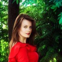 Леди в красном :: Евгения Вереина