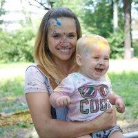 С мамой всегда весело! :: Nikolai Borisyakov