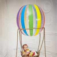 на воздушном шаре :: Юлия Дмитриева