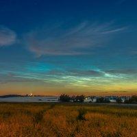 Серебристые облака :: Алексей Бородин