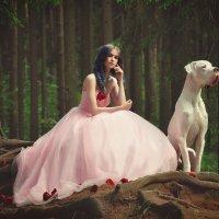 Нежная принцесса и ее очаровательный верный друг :: Татьяна Семёнова