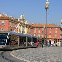 Трамвай на Площади Массена :: Елена Павлова (Смолова)