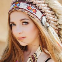 the indian :: Анастасия Яковлева